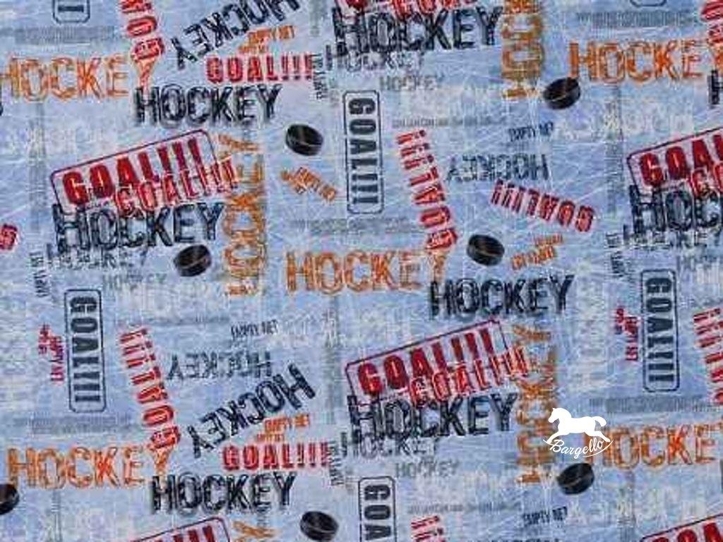 Hockey Ice Blue
