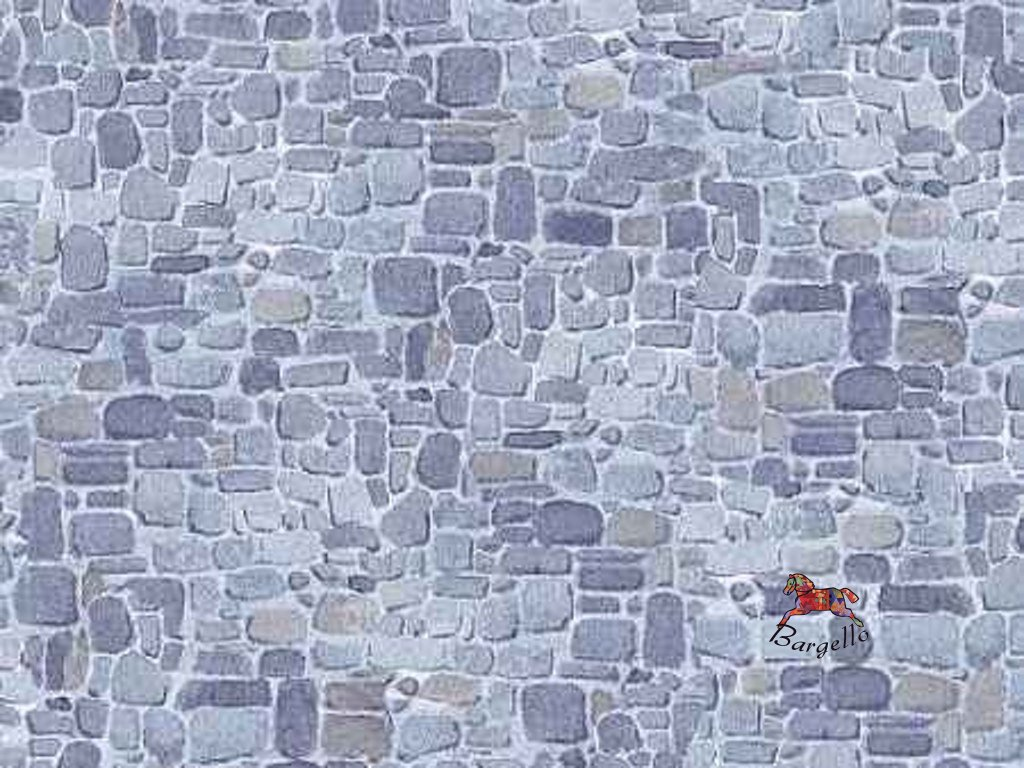 Čtverec Winter Welcome  Stone Wall Texture