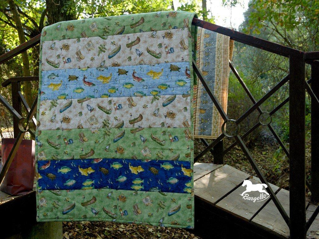 Patchworková deka Pro rybáře
