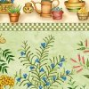 Garden of Herbs Repeating Stripe