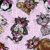 Čtverec Tossed Fancy Cats