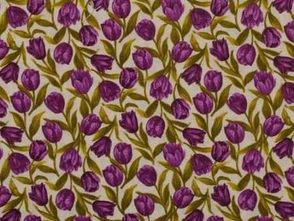Čtverec Tulip Festival Purple