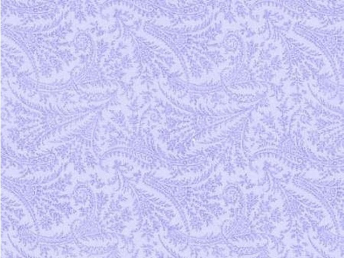 Paisley Powder Blue