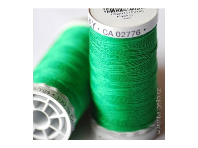 Nit  Sulky Cotton Xmas Green