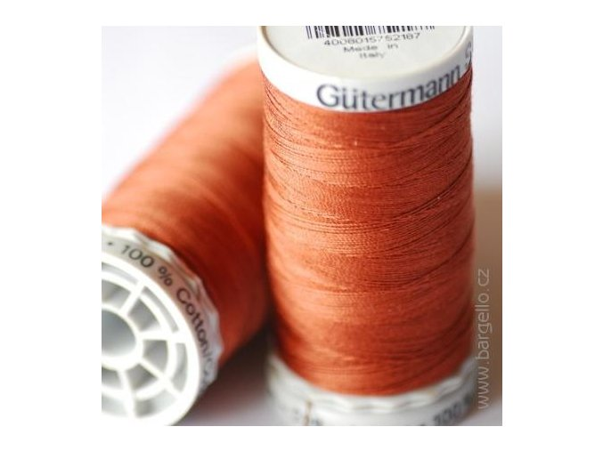 Nit  Sulky Cotton Tawny Brown