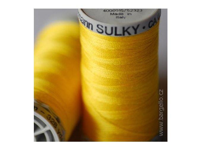 Nit  Sulky Cotton Sun Yellow