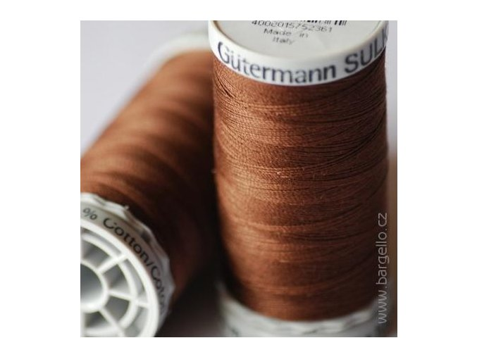 Nit  Sulky Cotton Dk. Brown