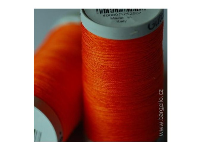 Nit  Sulky Cotton Orange Red