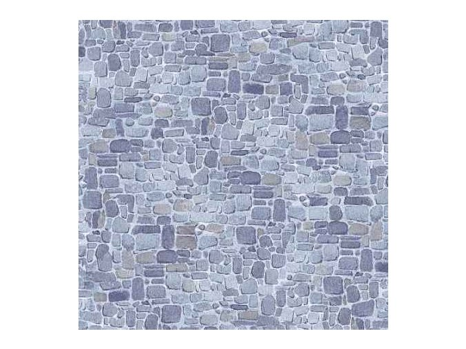 Winter Welcome  Stone Wall Texture