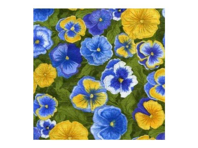 Patchwork Garden Pansies
