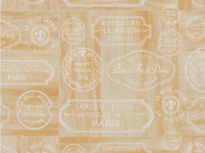 Le Cafe Label tan