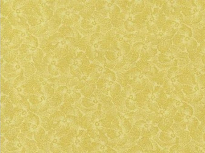Čtverec Pansy Gentle Yellow
