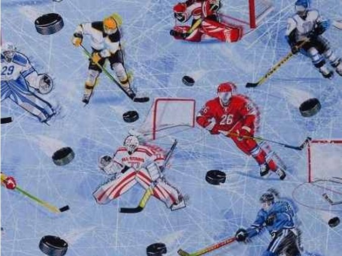 Čtverec Hockey Ice Blue