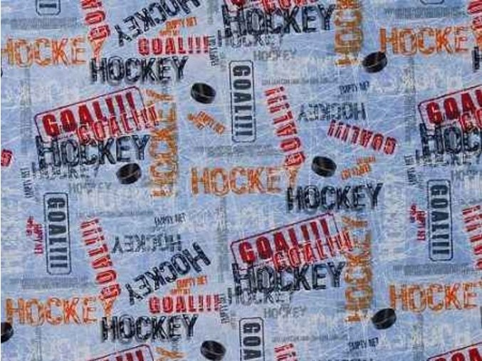 Čtverec Hockey Ice Blue