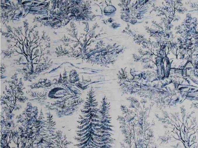 Čtverec Woodland Forest