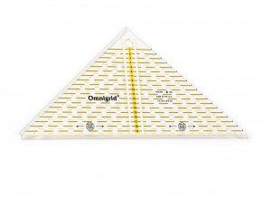 Trojúhelnik Omnigrid z 1/4 čtverce