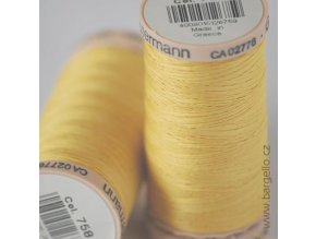 Nit Cotton  Yellow
