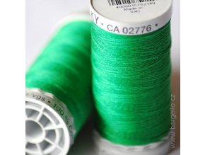 Nit  Sulky Cotton Xmas Green