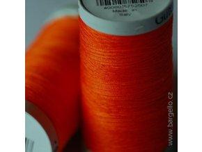 Nit  Sulky Cotton Orange Red