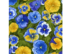 Patchwork Garden Pansies