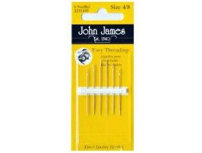 Jehly John James pro ruční šití pro špatně vidící