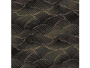 Čtverec Kimono Prints Cotton Sateen
