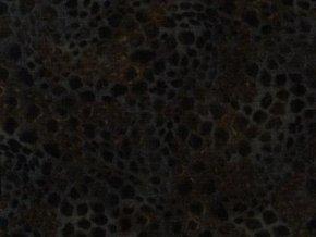 Čtverec Faux Jacquard Dark Chocolate
