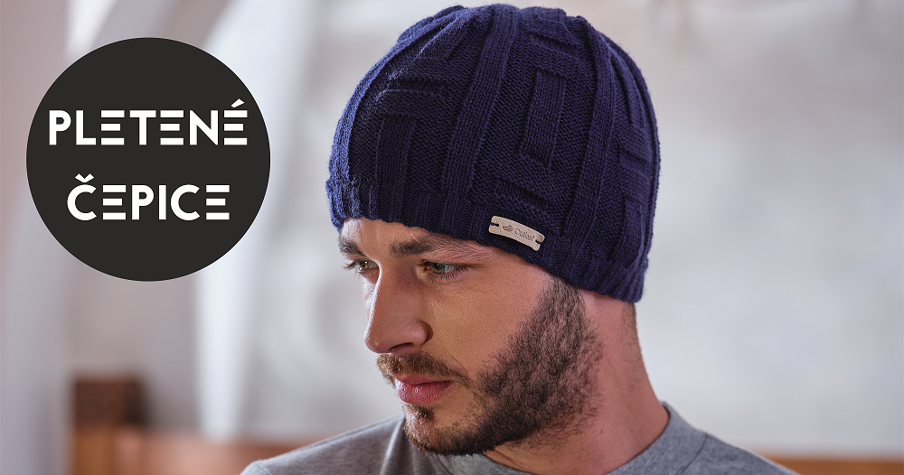 Pletené čepice podšité termoregulačním materiálem Outlast®.
