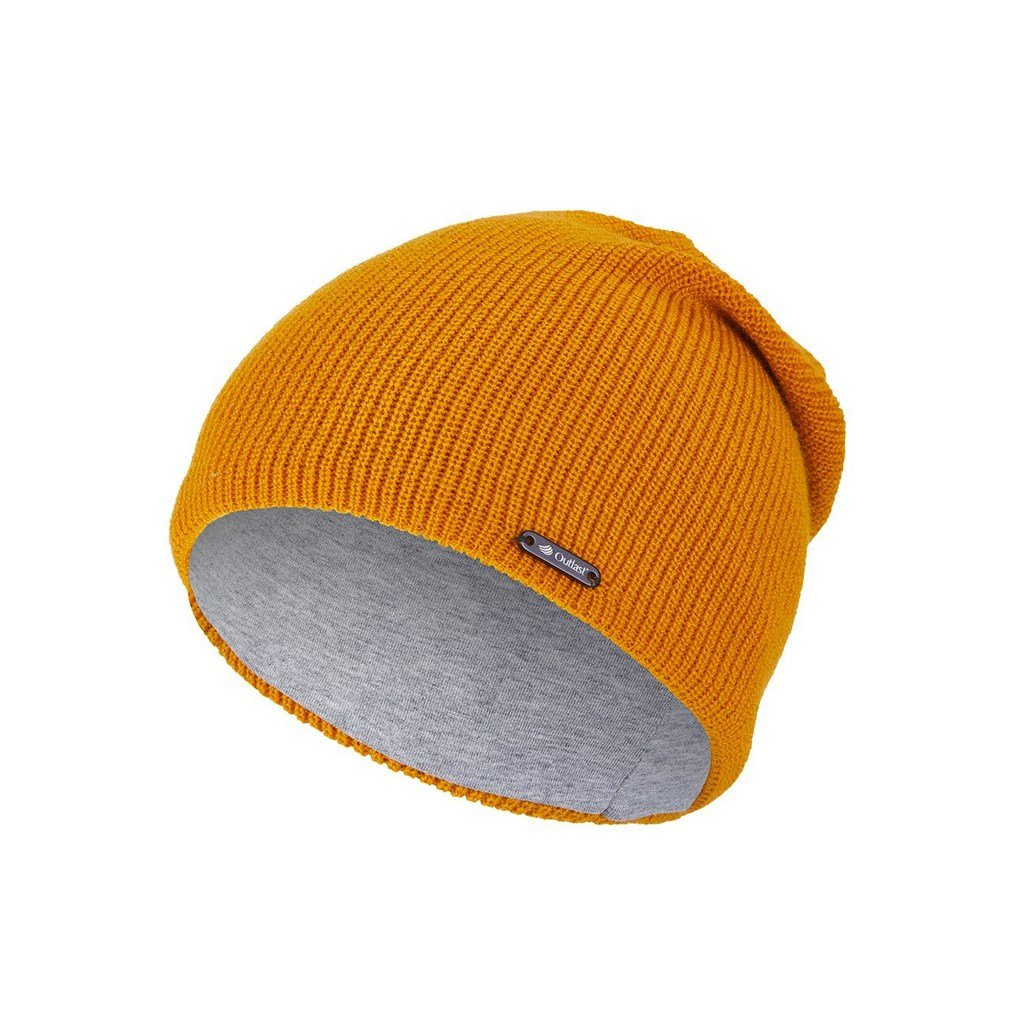 Čepice pletená UNI Outlast ® - žlutá (Velikost 4 | 45-48 cm)