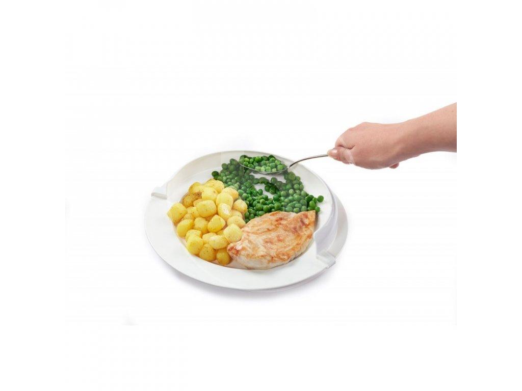 obruba na tanier