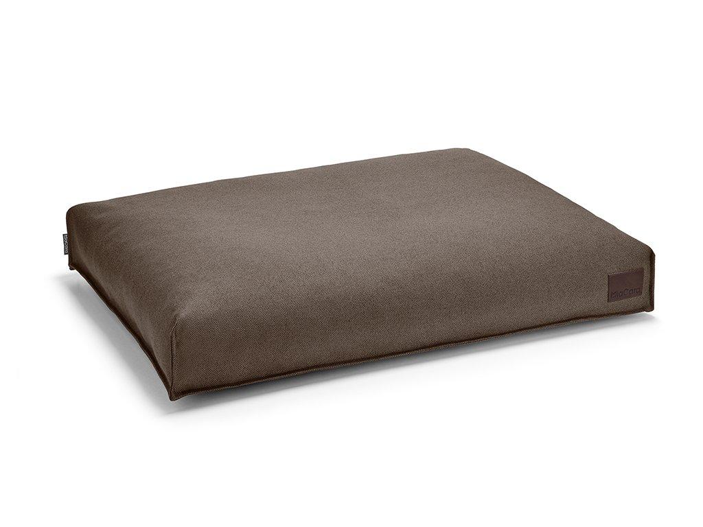 Luxusní matrace pro psy MiaCara Divo hnědá