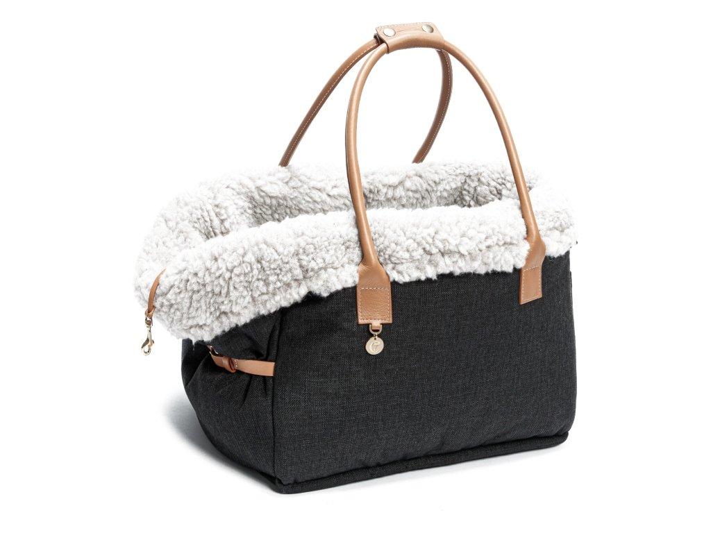 Luxusní cestovní taška pro psy Cloud7 City hnědá