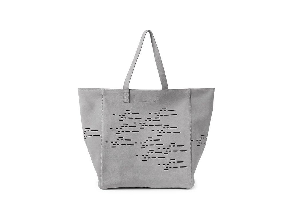 Luxusní cestovní taška pro kočky MiaCara Tosca šedá