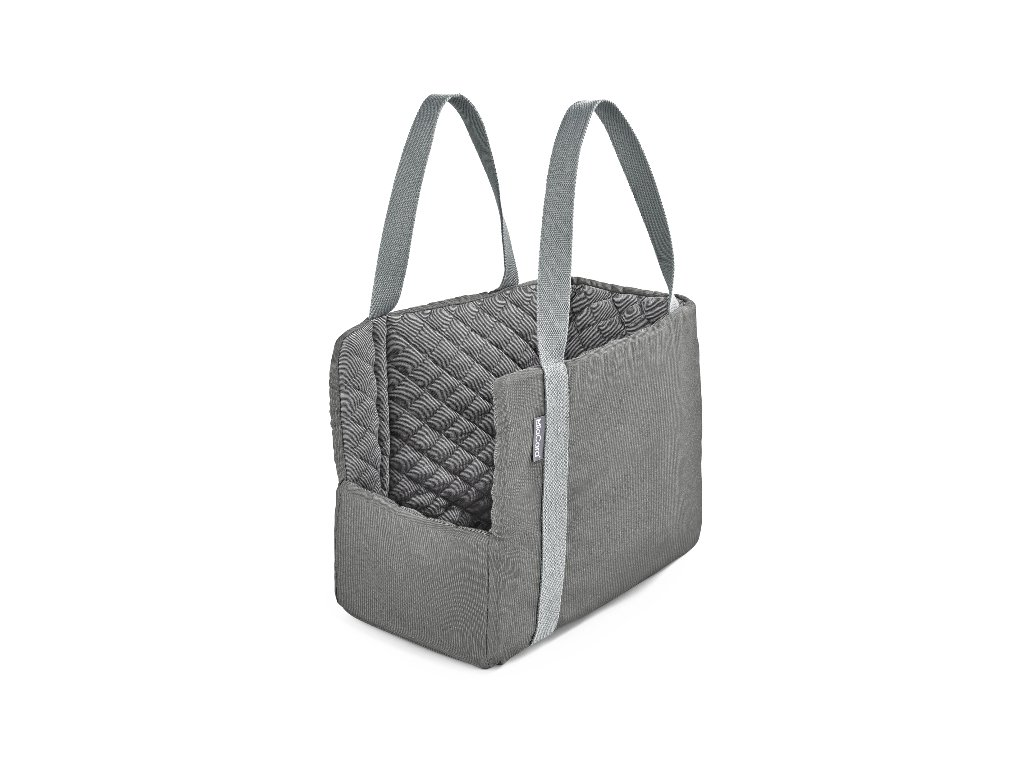 Cestovní taška pro psy MiaCara Via šedá