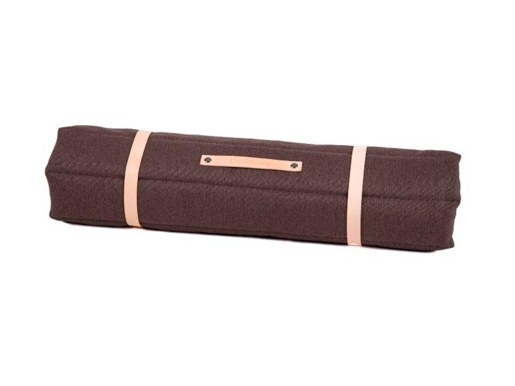 Luxusní cestovní deka pro psa hnědá