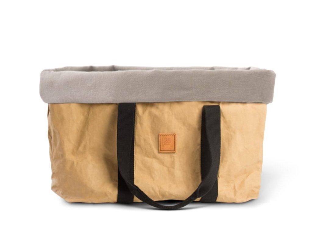 Cestovní taška pro psy DuepuntoOtto Dorothea hnědá