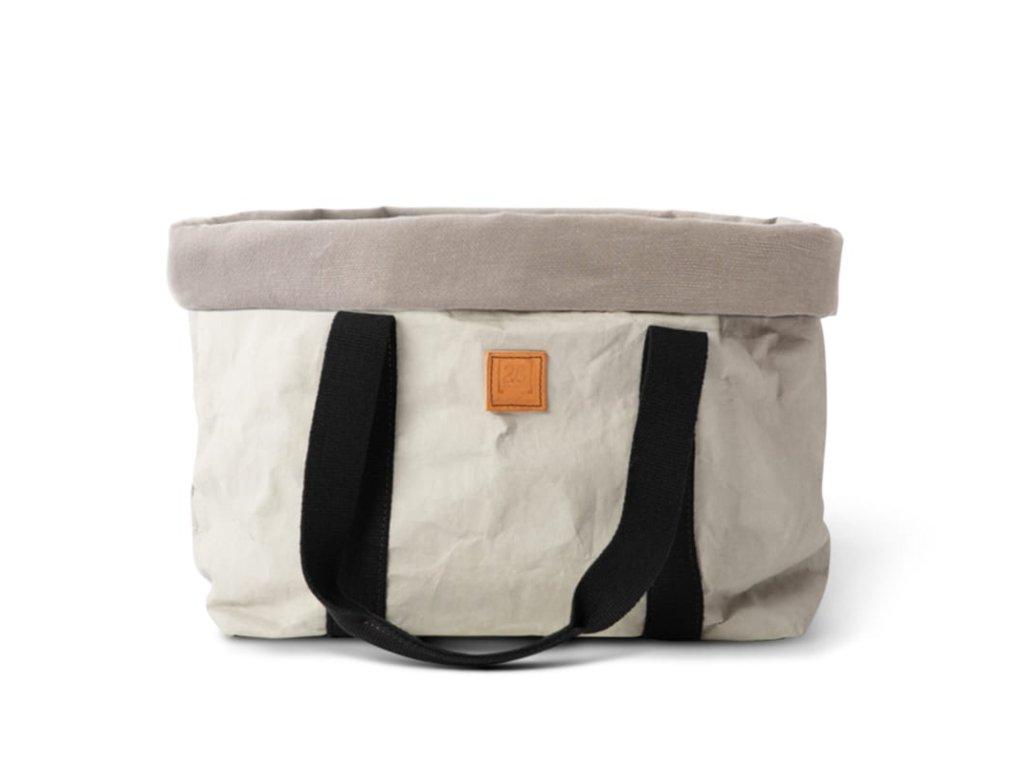 Cestovní taška pro psy DuepuntoOtto Dorothea šedá