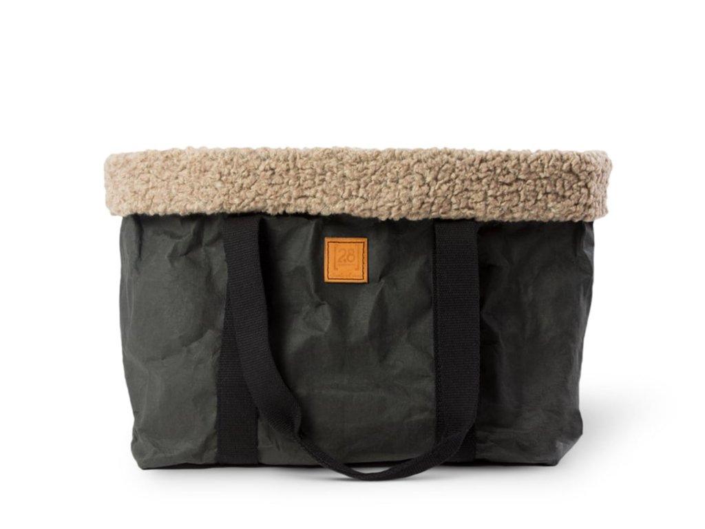 Cestovní taška pro psy DuepuntoOtto Dorothea černá