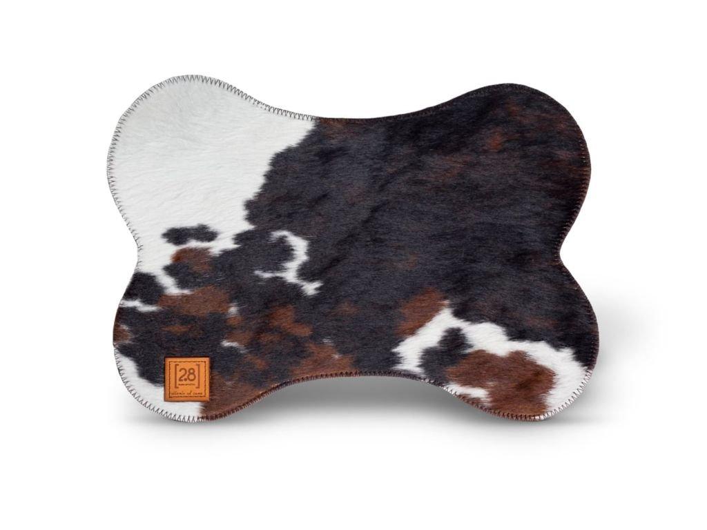 Kožená podložka pod misku pro psa DuepuntoOtto Bruce