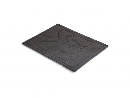 Luxusní deka pro psy MiaCara Brava tmavě šedá