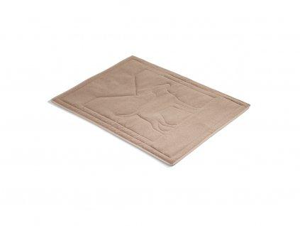 Luxusní deka pro psy MiaCara Brava karamel