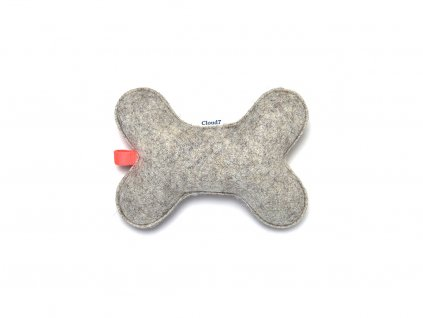 Cloud7 Dog Toy Love Bone Felt u