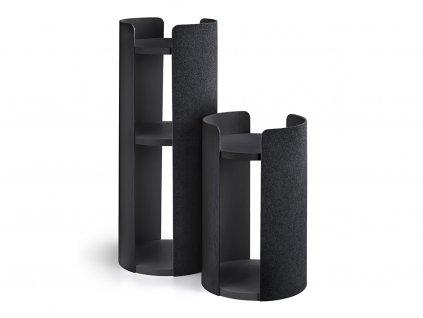 Designové odpočívadlo pro kočky MiaCara Torre černé