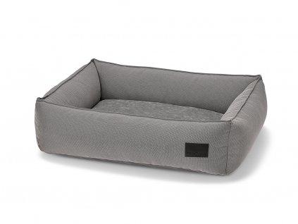 Luxusní hypoalergenní pelíšek MiaCara Duo šedý