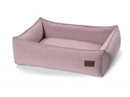 Luxusní pelíšek pro psy MiaCara Nube růžový