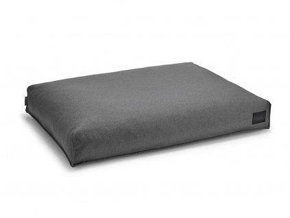 Luxusní matrace pro psy MiaCara Divo tmavě šedá