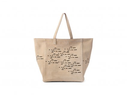 Luxusní cestovní taška pro kočky MiaCara Tosca béžová
