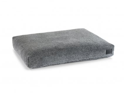 Luxusní matrace pro psy MiaCara Sherpa šedá