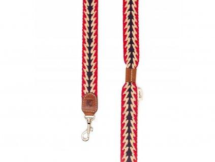 Vodítko Buddys Peruvian Arrow červené