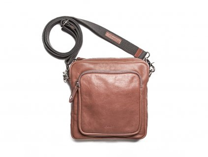 Kožená taška Cloud7 crossbody rose